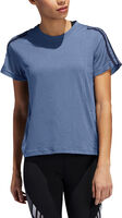3 Stripe Mesh Sleeve Tee teknisk t-skjorte dame