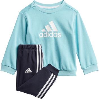 adidas Badge of Sport French Terry joggedress barn Gutt Blå