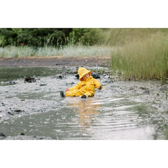 Moss PU regnsett barn
