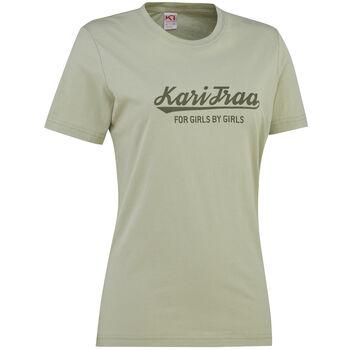 KARI TRAA Mølster t-skjorte dame Grønn