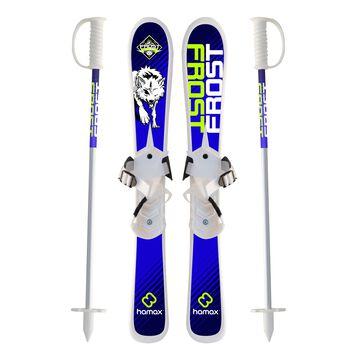 Frost Skisett og staver Blå