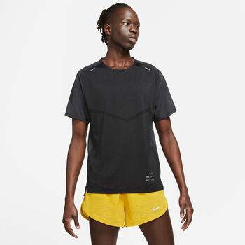 Nike Rise 365 Run Division teknisk t-skjorte herre Svart