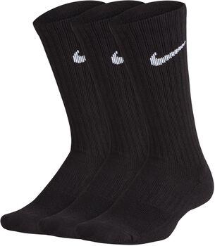 Nike Performance Cushioned 3-pk teknisk sokk Gutt Svart