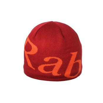 Rab Logo Beanie lue Herre Rød