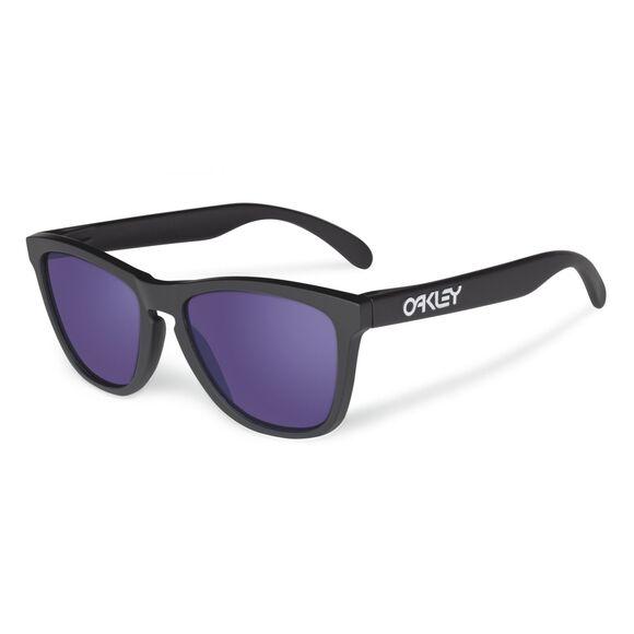 Frogskins Violet Iridium - Matte Black solbriller