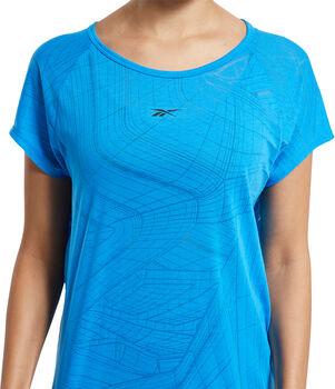 Reebok Burnout teknisk t-skjorte dame Blå