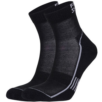Frank Shorter Vilis 2-pk teknisk sokk Herre Svart