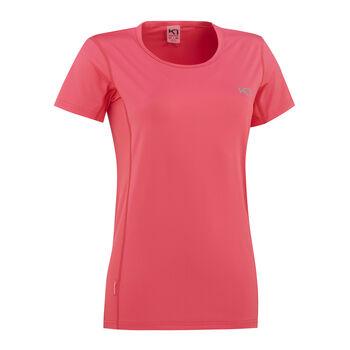 KARI TRAA Nora teknisk t-skjorte dame Rød