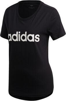 adidas Essentials Linear t-skjorte dame Svart