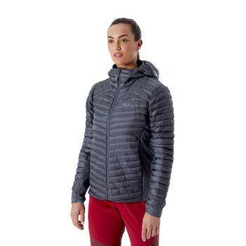 Rab Cirrus Flex 2.0 isolert jakke dame Grå