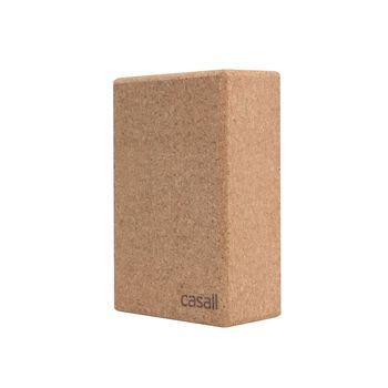 Casall Yoga Block Natural Cork yogablokk Hvit