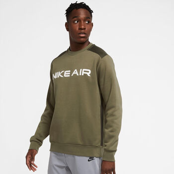 Nike Air Fleece Crew collegegenser herre Grønn