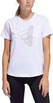 adidas Badge of Sport teknisk t-skjorte dame Hvit