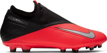 Nike Phantom Vision 2 Academy Dynamic Fit fotballsko gress/kunstgress Rød