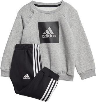 adidas 3-Stripes joggedress barn Jente Grå
