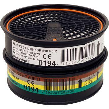 Swix T42-2F filter til skiprepareringsmaske Svart