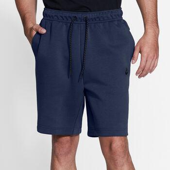 Nike Tech Fleece shorts herre Blå