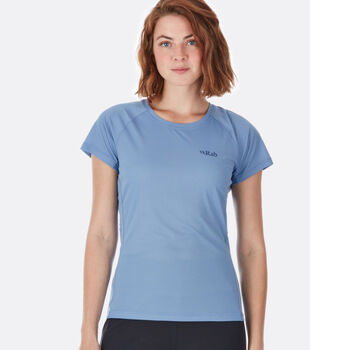 Rab Pulse SS teknisk t-skjorte dame Blå