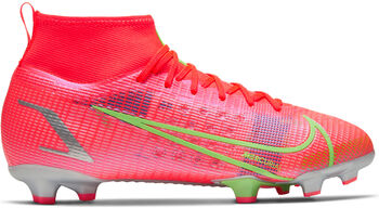 Nike Mercurial Superfly 8 Pro fotballsko gress junior Rød