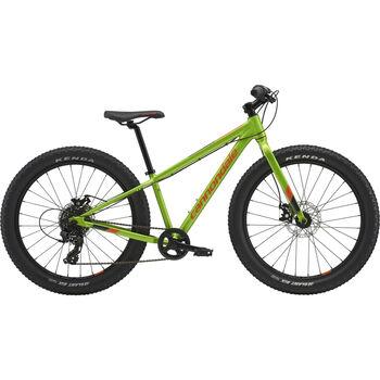Cannondale Cujo 24+ terrengsykkel junior Grønn