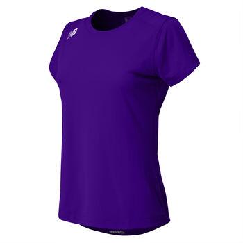New Balance Short Sleeve Tech Tee teknisk t-skjorte dame Lilla