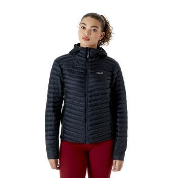 Rab Cirrus Flex 2.0 isolert jakke dame Svart