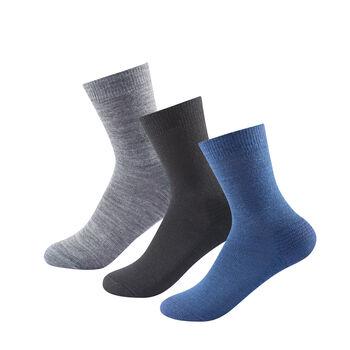Devold Multi Medium sokker 3 pk Herre Flerfarvet