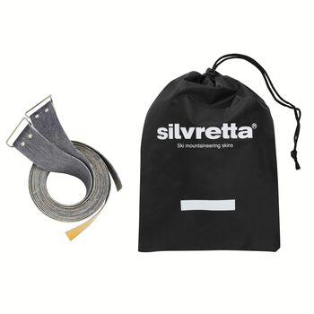 Åsnes Silvretta 200/40 Mohair Mix skifeller Svart