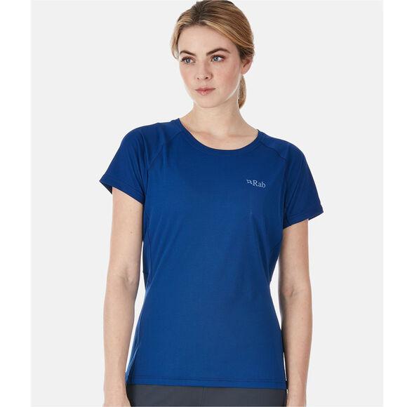 Pulse SS teknisk t-skjorte dame