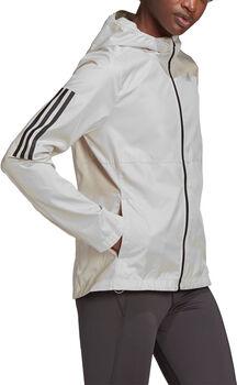 adidas Own the Run vindjakke med hette dame Hvit