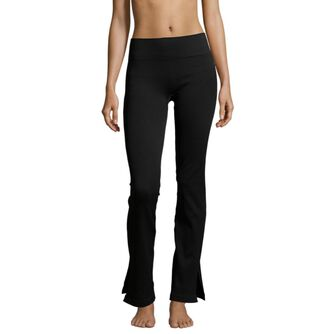 Seamless Rib Slit Pants tights dame