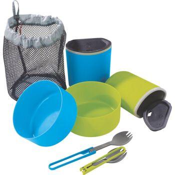 MSR 2 Person Mess Kit, Mugs, Bowls spisesett Grønn