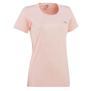 KARI TRAA Nora teknisk t-skjorte dame Rosa