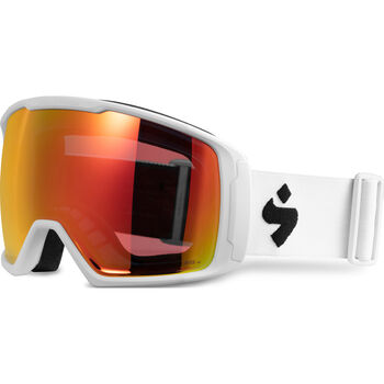 Sweet Protection Clockwork World Cup MAX RIG Topaz alpinbriller Herre Hvit