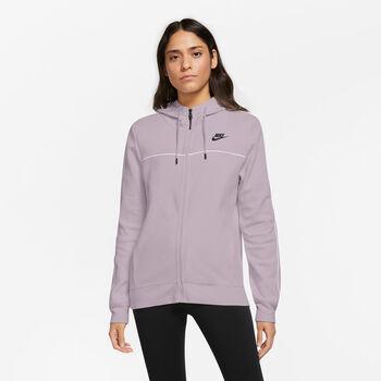 Nike Millennium Full-Zip hettejakke dame Lilla