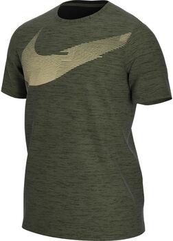 Nike Dri-FIT Swoosh Energy teknisk t-skjorte herre Grønn
