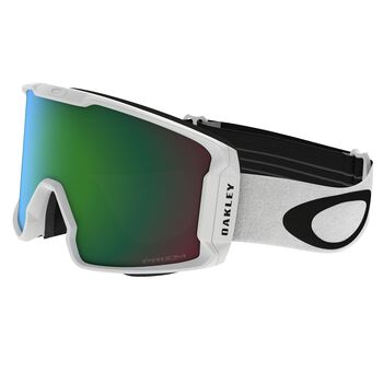 Oakley Line Miner Prizm™ Jade Iridium - Matte White alpinbriller Herre Blå