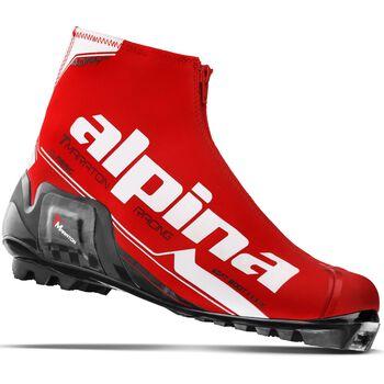 ALPINA TMaraton skisko klassisk Herre Rød