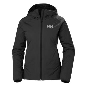 Helly Hansen Odin Stretch Hooded Insulator jakke dame Svart