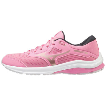 Mizuno Wave Rider 24 løpesko junior Rosa