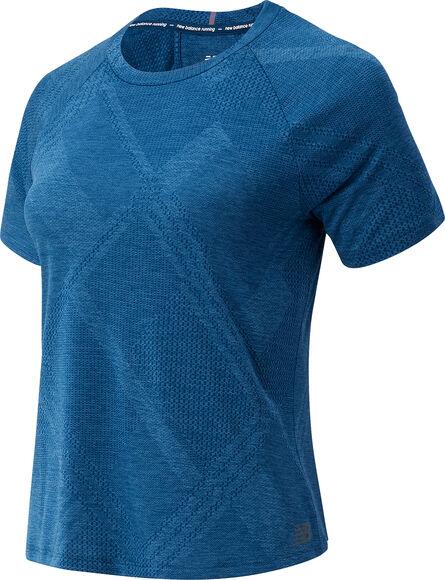 Q Speed Fuel Jacquard teknisk t-skjorte dame
