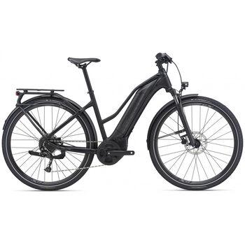 Giant 21 Explore E+ STA S el-sykkel dame Svart