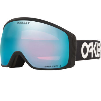Oakley Flight Tracker XM Factory Pilot Black, Prizm Snow Sapphire alpinbriller Herre Grå