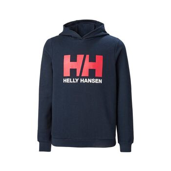 Helly Hansen HH Logo Hoodie hettegenser junior Blå