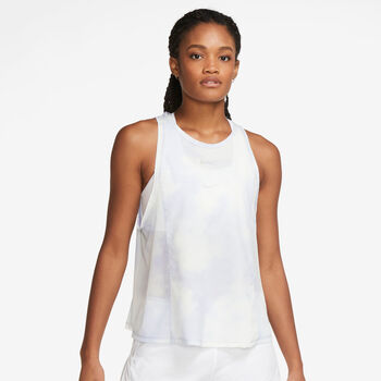 Nike Icon Clash City Sleek Running treningssinglet dame Blå