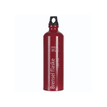 Rast Alu brenselflaske 0,75 liter Rød