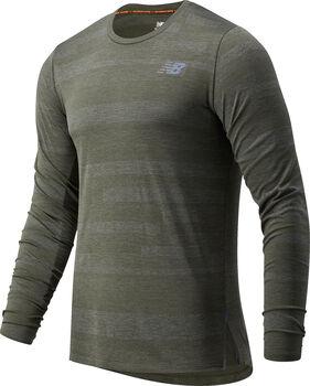 New Balance Q Speed Fuel Jacquard teknisk t-skjorte herre Grønn