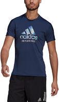 Run for the Oceans Graphic teknisk t-skjorte herre
