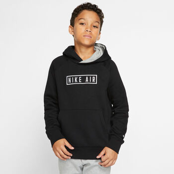 Nike Air Pullover hettegenser junior Svart