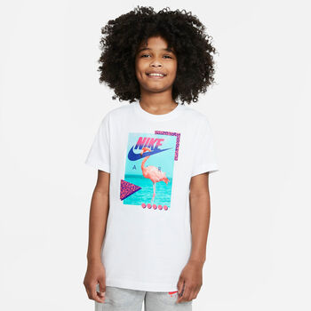 Nike Sportswear Beach Flamingo t-skjorte junior Hvit